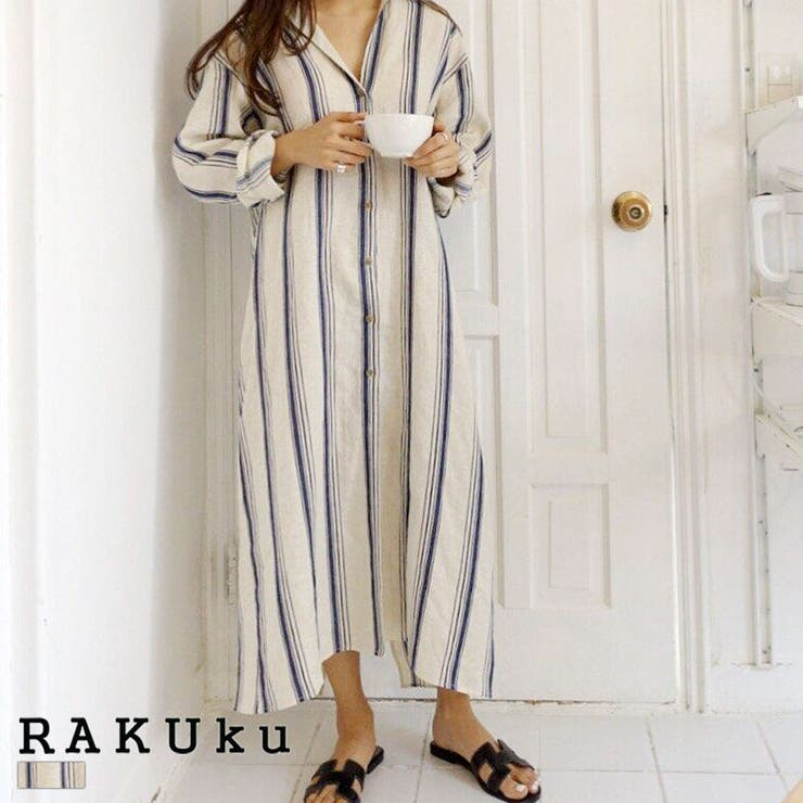 RAKUkuのワンピース・ドレス/シャツワンピース | 詳細画像