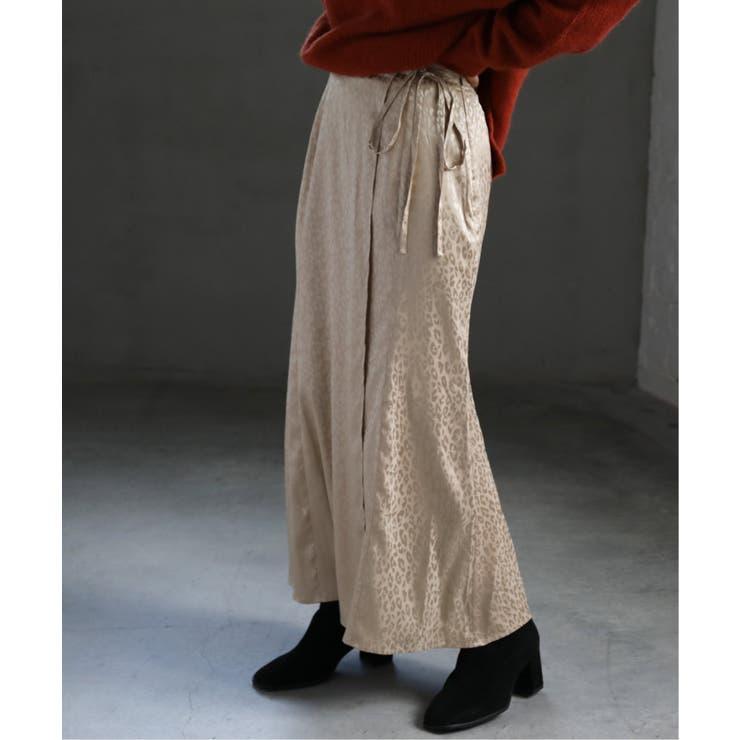 レオパードジャガードラップスカート | Ray Cassin | 詳細画像1