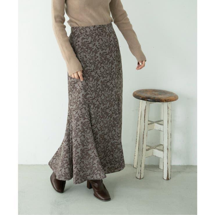 ランダムフラワーナロースカート | Ray Cassin | 詳細画像1