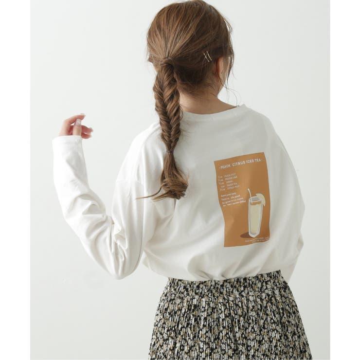 ピーチシトラスティーアートTシャツ | Ray Cassin | 詳細画像1