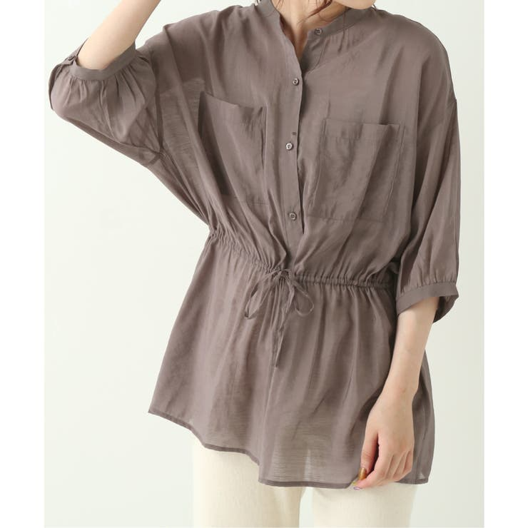 6分袖シアードロストシャツ | Ray Cassin | 詳細画像1