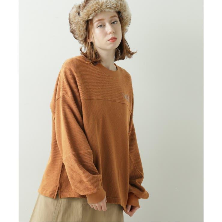 バイヤス裏毛刺繍プルオーバー | DOUBLE NAME | 詳細画像1