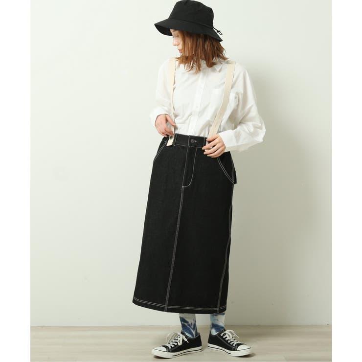 サス付きナロースカート | DOUBLE NAME | 詳細画像1