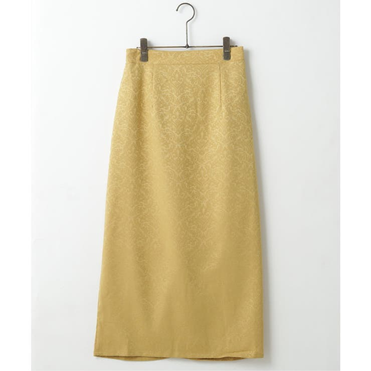 ジャガードナロースカート | frames RAY CASSIN | 詳細画像1