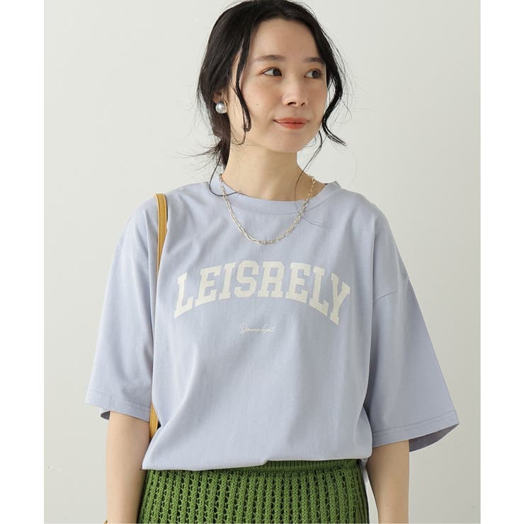 OE天竺 カレッジプリントBIGTシャツ | frames RAY CASSIN | 詳細画像1