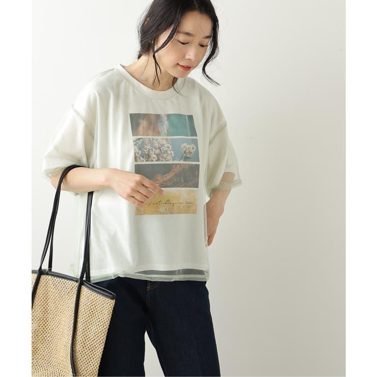 チュール重ねTシャツセット | frames RAY CASSIN | 詳細画像1