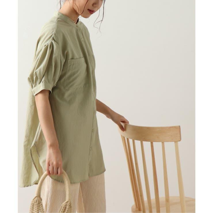 後ろレースアップチュニックシャツ | frames RAY CASSIN | 詳細画像1