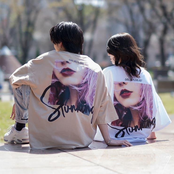 リッププリントモンスターTシャツ | REGIEVO | 詳細画像1