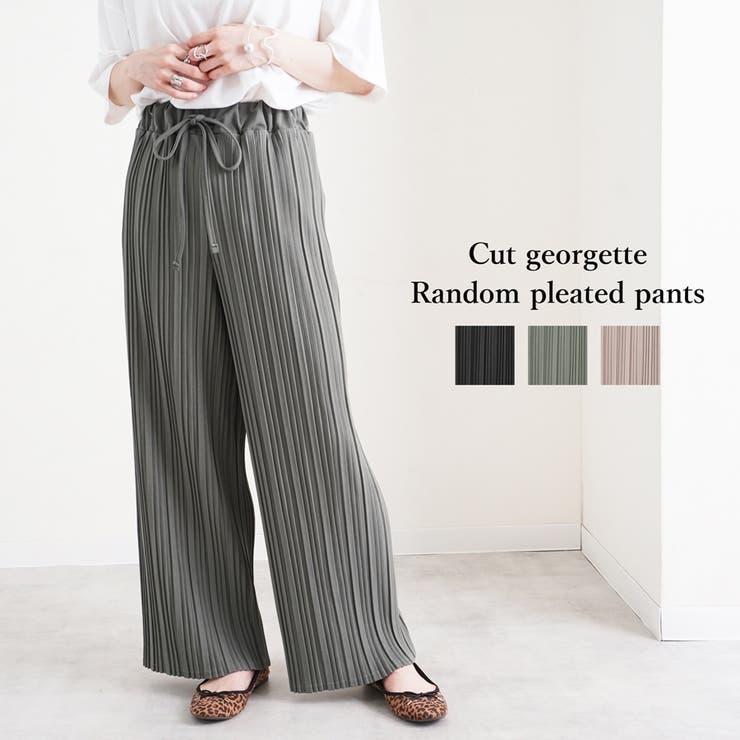 ワイドパンツ レディース ファッション | relaclo | 詳細画像1