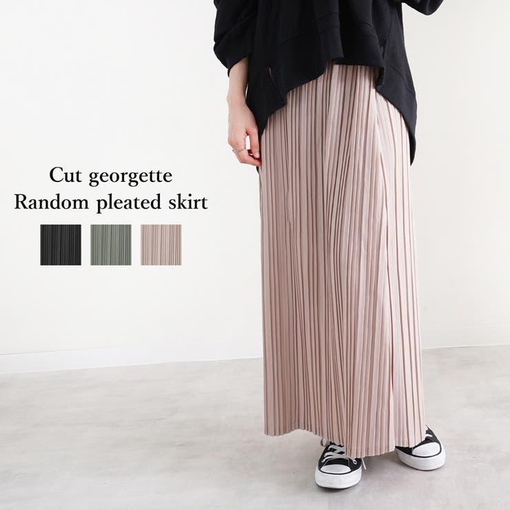 プリーツスカート レディース ファッション | relaclo | 詳細画像1