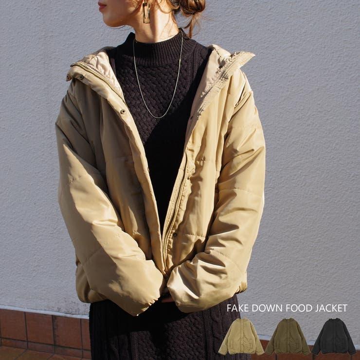 レディースファッション通販中綿ジャケット   詳細画像