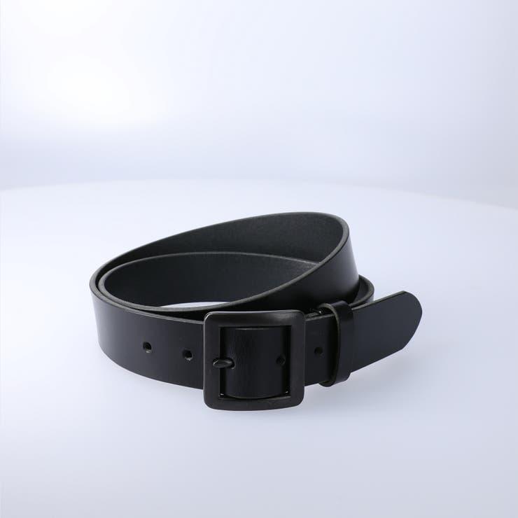 35mmオールブラックベルト,Right-on,ライトオン,未入力,Other | Right-on【MEN】 | 詳細画像1