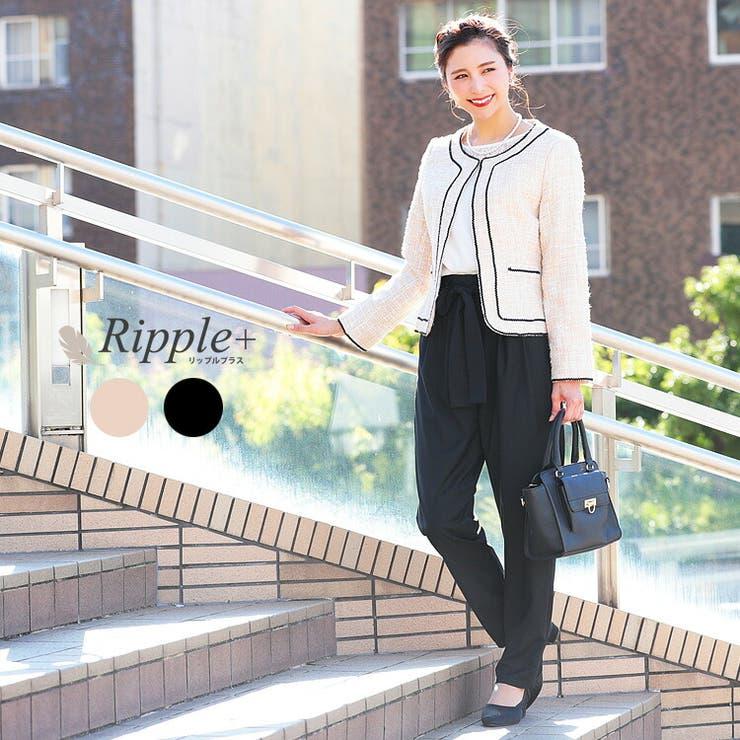 スーツ レディース パンツ   Ripple+    詳細画像1