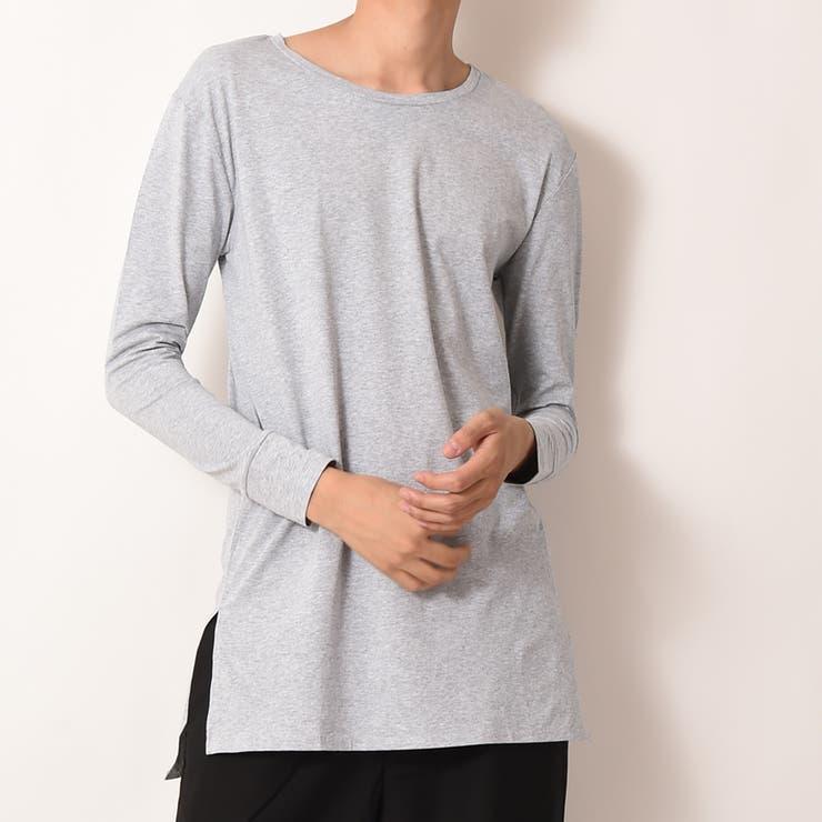 選べる 裾デザイン ロング丈 カットソー メンズ ROCK STE ロクステ | ROCK STE  | 詳細画像1