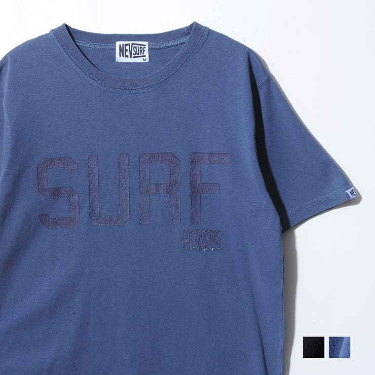 クラックプリントピグメント半袖Tシャツ メンズ NEVSURF | ROCK STE  | 詳細画像1