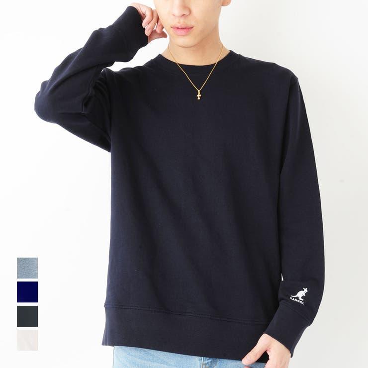 KANGOL 袖刺繍 クルーネック | ROCK STE  | 詳細画像1