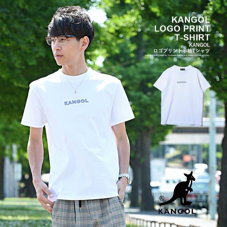 KANGOL ロゴプリント半袖Tシャツ カンゴール   ROCK STE    詳細画像1