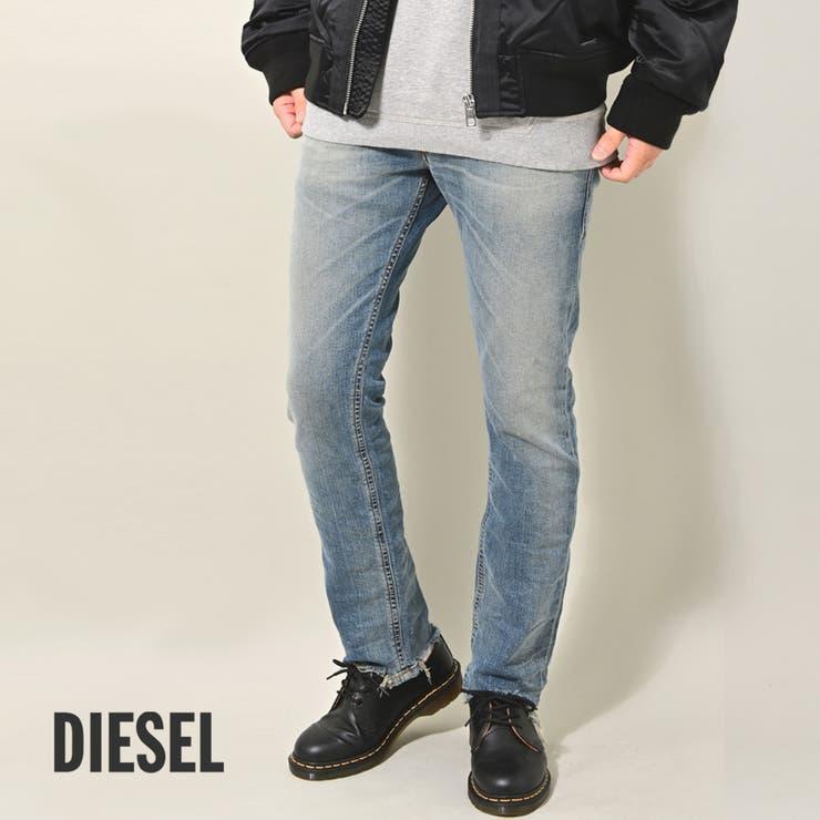DIESEL THOMMER 裾カットオフ   ROCK STE    詳細画像1
