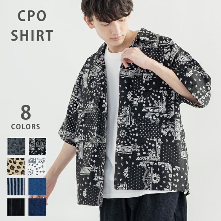半袖シャツ CPO シェフシャツ   Rocky Monroe   詳細画像1