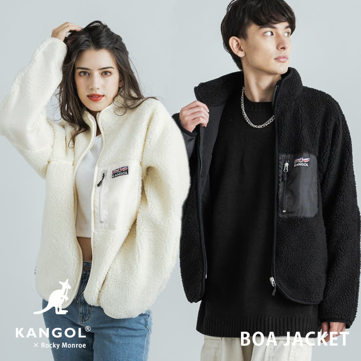 KANGOL カンゴール ボアジャケット | Rocky Monroe | 詳細画像1
