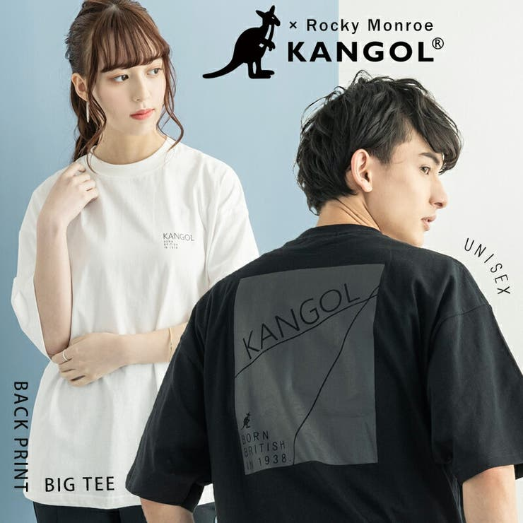 KANGOL カンゴール プリントTシャツ   Rocky Monroe   詳細画像1