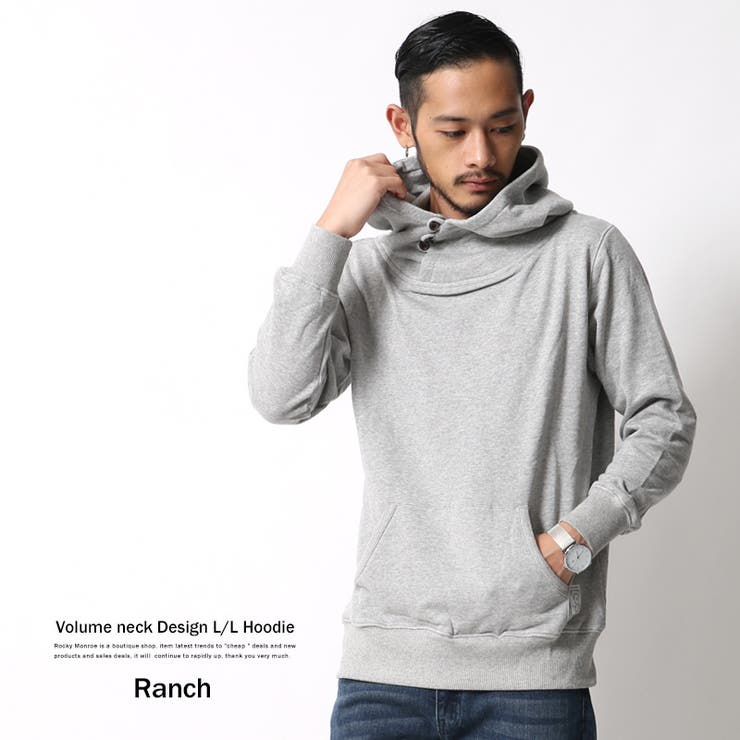 �p�[�J�[ �����Y �t�[�h �{�����[���l�b�N �v���I�[�o�[ ���� �X�E�F�b�g ���� Ranch �����` RA16-071 6397