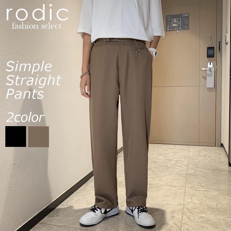 ストレートパンツ | Rodic【MENS】 | 詳細画像1