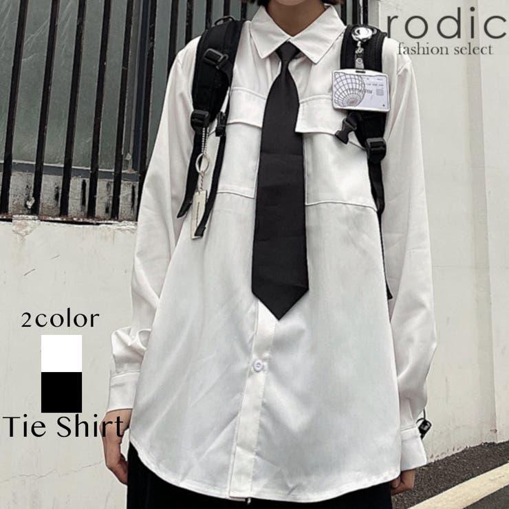 ユニセックス ロゴ シャツ メンズ   Rodic【MENS】   詳細画像1
