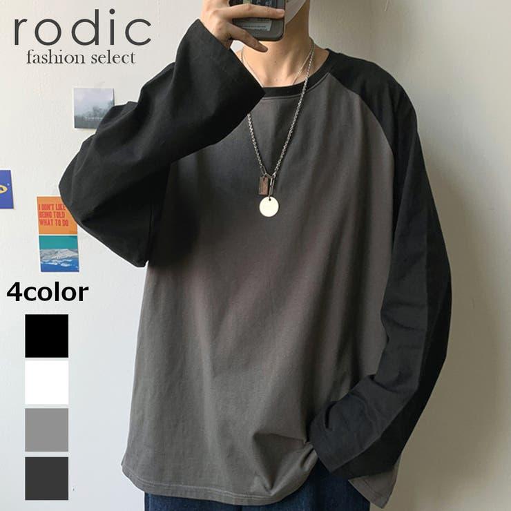 ユニセックス ビッグシルエット ロンT   Rodic【MENS】   詳細画像1