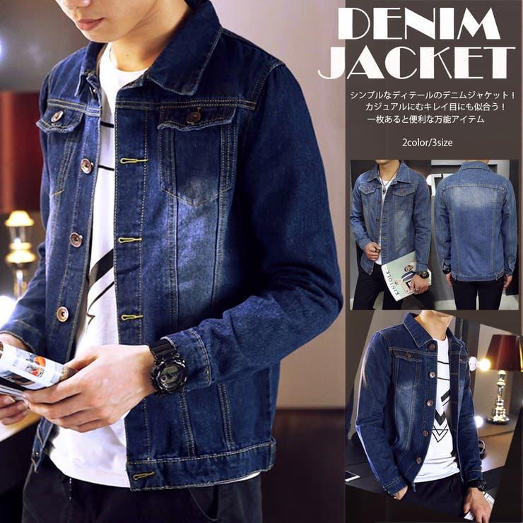 アウター ジャケット デニム デニムジャケット Gジャン メンズ メンズファッション 定番 ベーシック シンプル