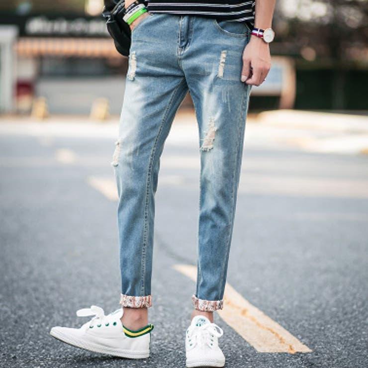 ボトムス パンツ デニム デニムパンツ ジーパン ジーンズ メンズ メンズファッション ダメージデニム ダメージデニムパンツ スキニー
