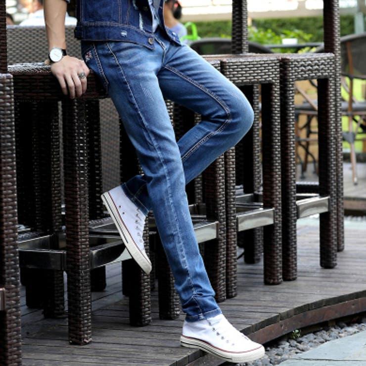 ボトムス パンツ デニム デニムパンツ ジーパン ジーンズ メンズ メンズファッション ベーシック 無地 シンプル 定番