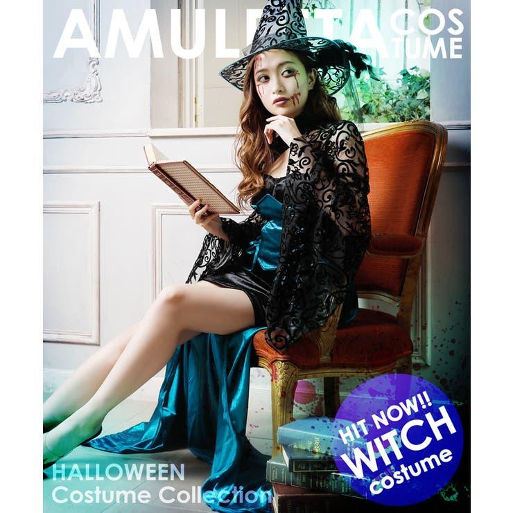 【3点SET】本格派◆コルセット風スカート付き魔女コスプレ | Royal Cheaper | 詳細画像1