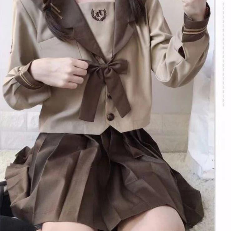 制服デザインセットアップ ブラウン系 JK   Ruby's Collection    詳細画像1