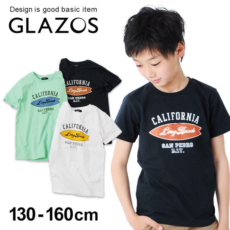 天竺 サーフボードプリント半袖Tシャツ 子供服   子供服のS&H   詳細画像1