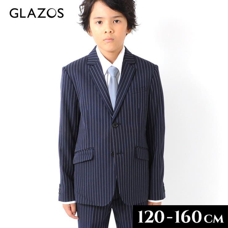 ストレッチピンストライプ テーラードジャケット 子供服 | 子供服のS&H | 詳細画像1