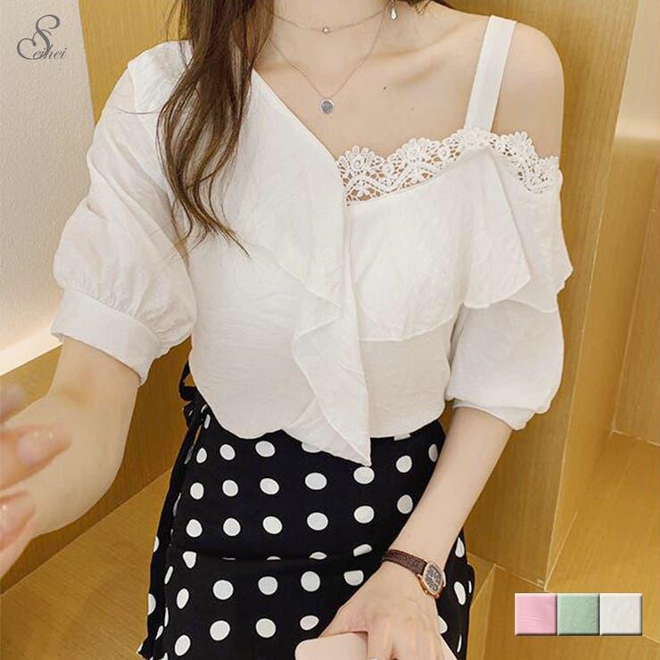 韓国ファッション Tシャツ ブラウス | seiheishop | 詳細画像1