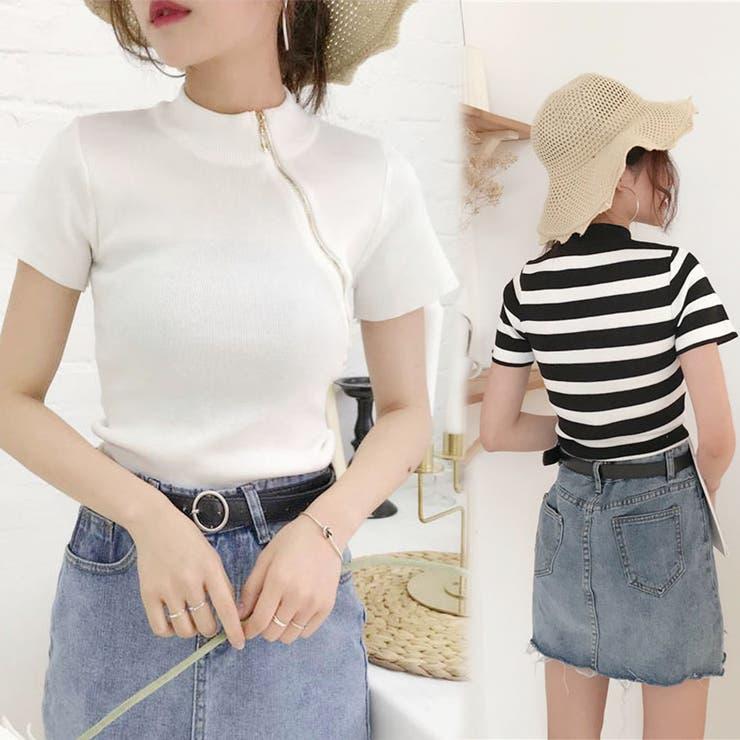 韓国ファッション Tシャツ カットソー   seiheishop   詳細画像1