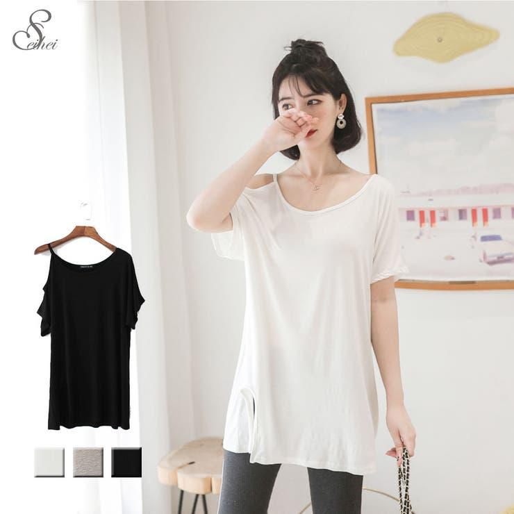 韓国ファッション Tシャツ カットソー | seiheishop | 詳細画像1