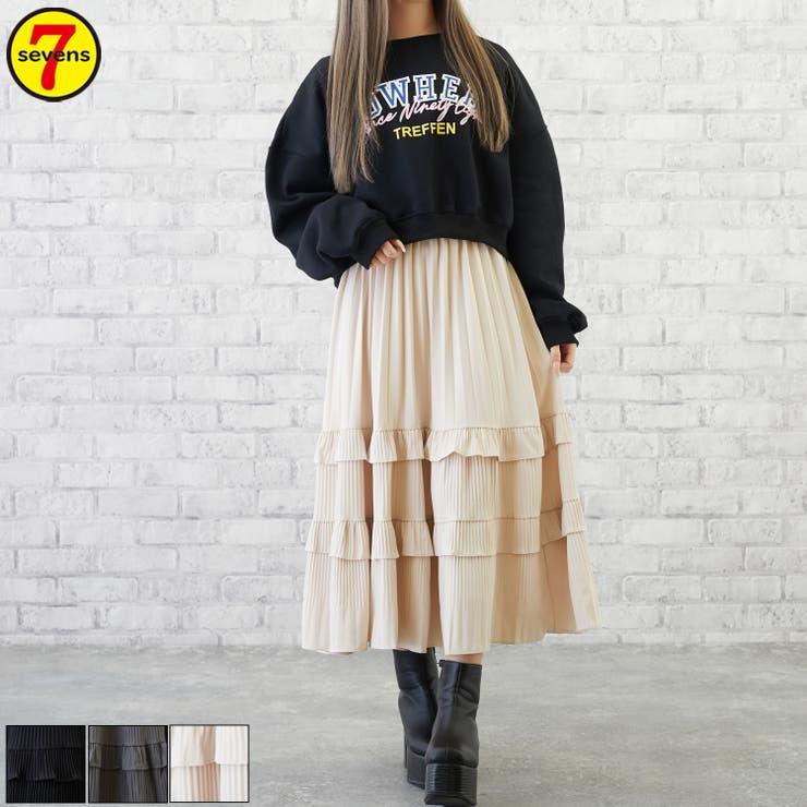 sevensのスカート/ティアードスカート   詳細画像