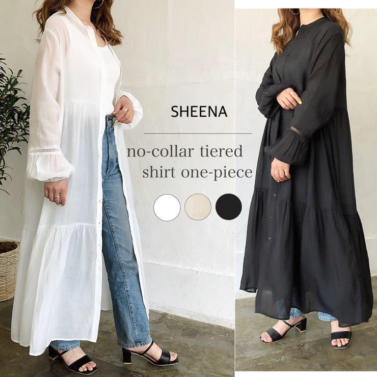 SHEENA のワンピース・ドレス/シャツワンピース   詳細画像