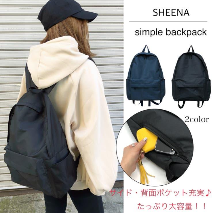 SHEENA のバッグ・鞄/リュック・バックパック | 詳細画像