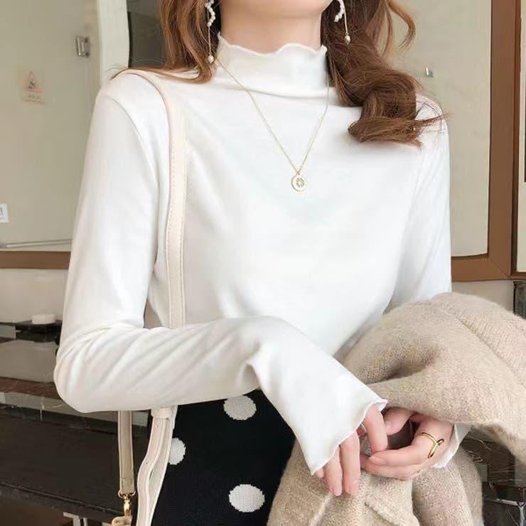 ニットソー ニットトップス 韓国ファッション | Sibra | 詳細画像1