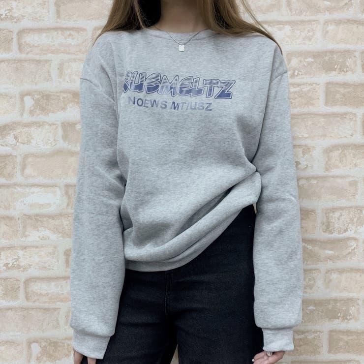 クルーネックスウェットシャツ 韓国ファッション 人気アイテム   Sibra   詳細画像1