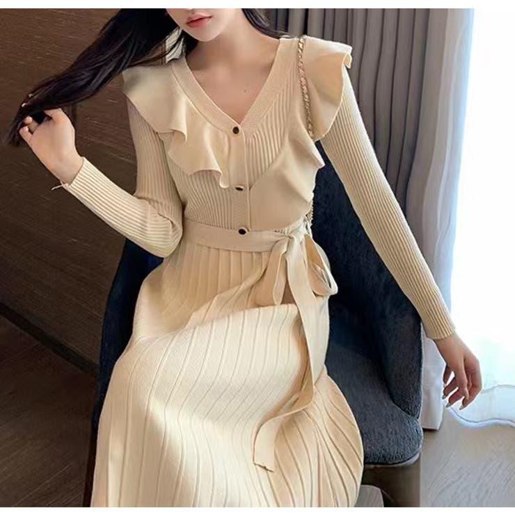 ニットワンピース 韓国ファッション 韓国 | Sibra | 詳細画像1