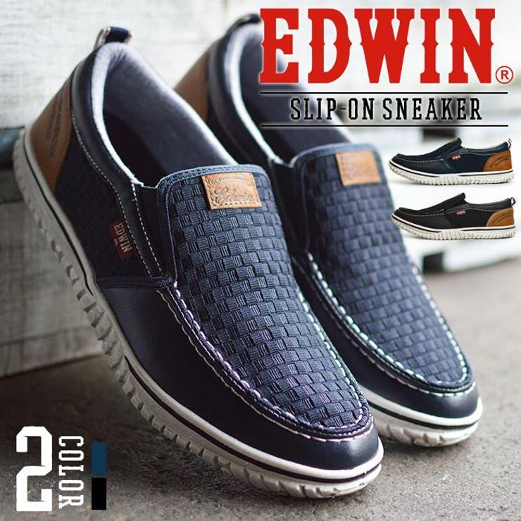 EDWIN エドウィン スリッポン | ShoeSquare | 詳細画像1