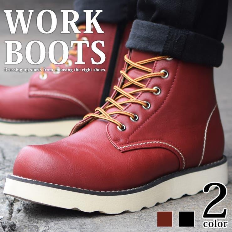 ブーツ メンズ メンズブーツ   ShoeSquare   詳細画像1