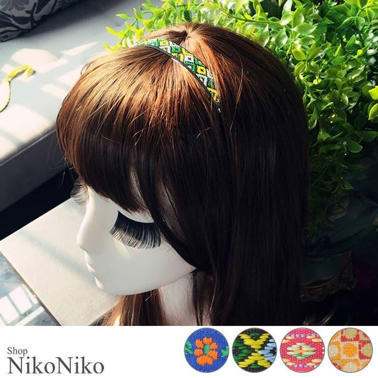 ShopNikoNikoのヘアアクセサリー/ヘアバンド   詳細画像