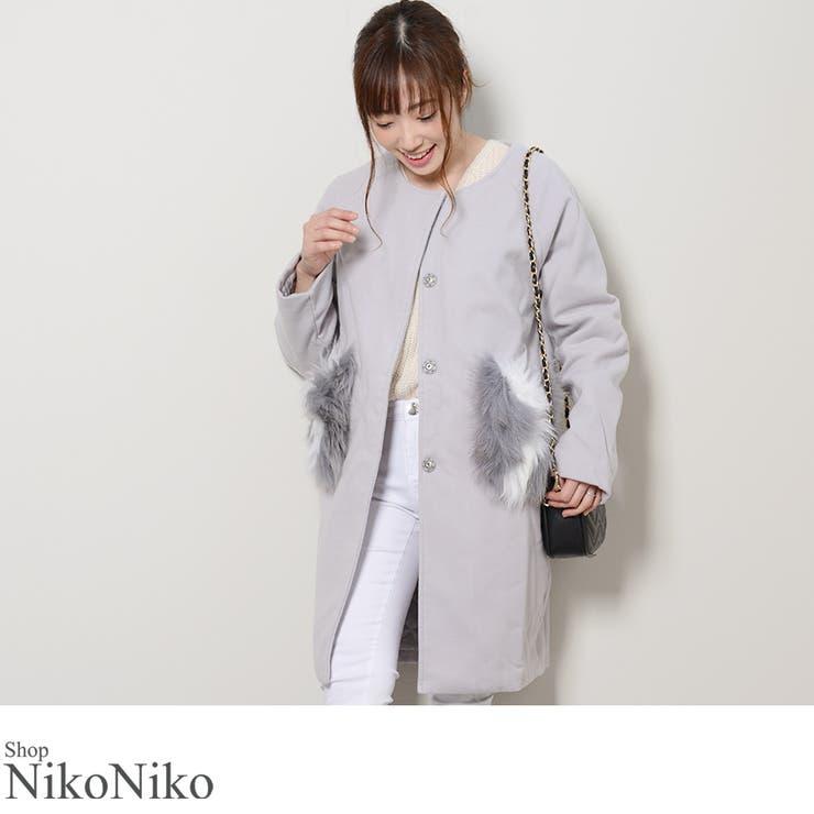 ShopNikoNikoのアウター(コート・ジャケットなど)/ハーフコート | 詳細画像