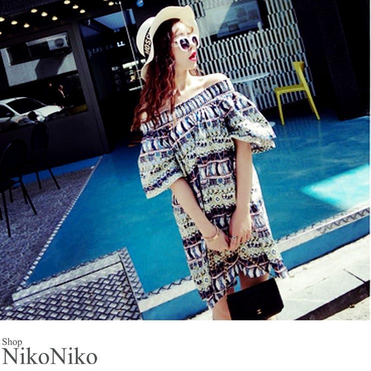 ShopNikoNikoのワンピース・ドレス/ベアワンピース | 詳細画像